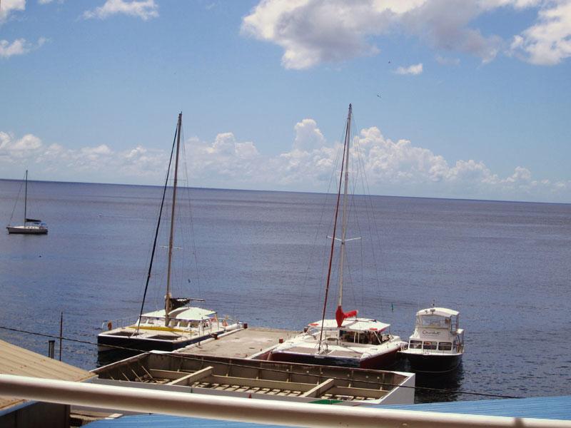 Sea/Piton View