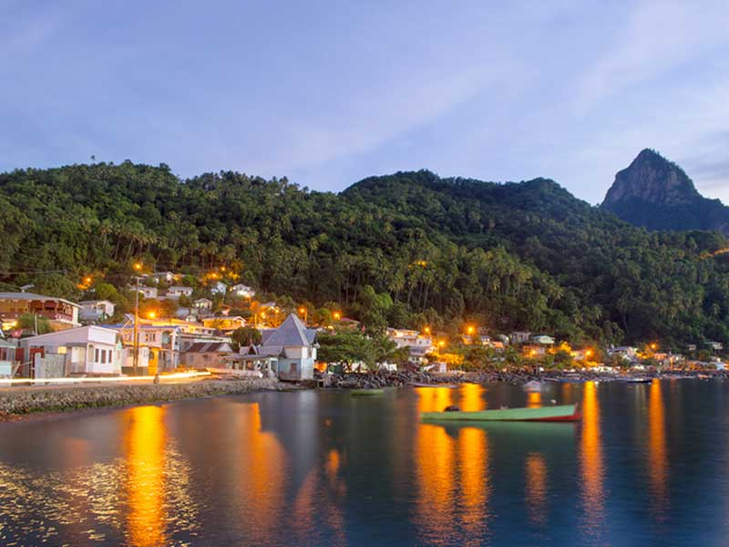The Soufriere Waterfront